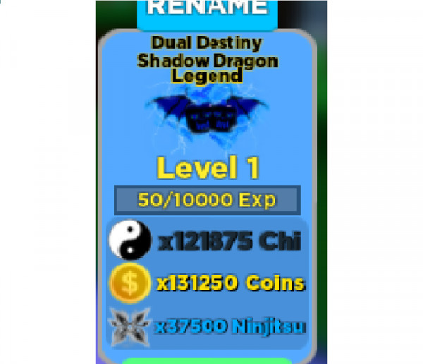 8 Dual Destiny Shadow Dragon|Legend|Ninja Legend