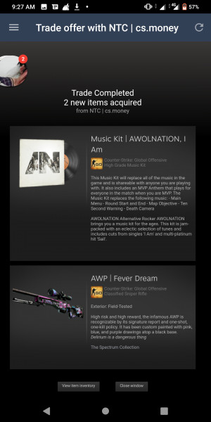 AWP Fever Dream FT