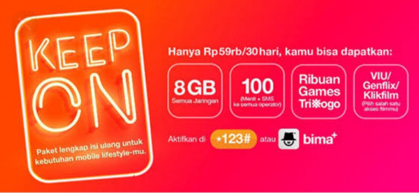 Keep ON 8 GB