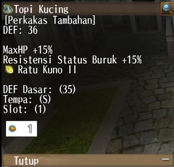 TOPI KUCING