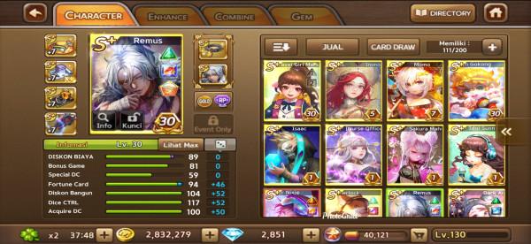 Remus + Cyber Nixie + Vesta + White Layla DM1K