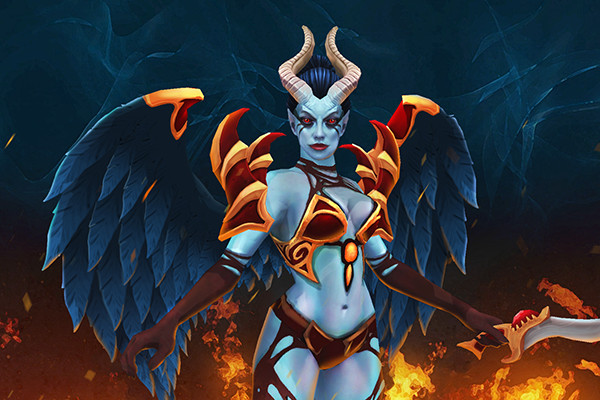Inscribed Dark Angel (Queen of Pain Set)