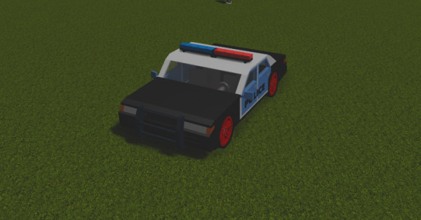 Police Car RoCitizens (tanpa harus jadi polisi)