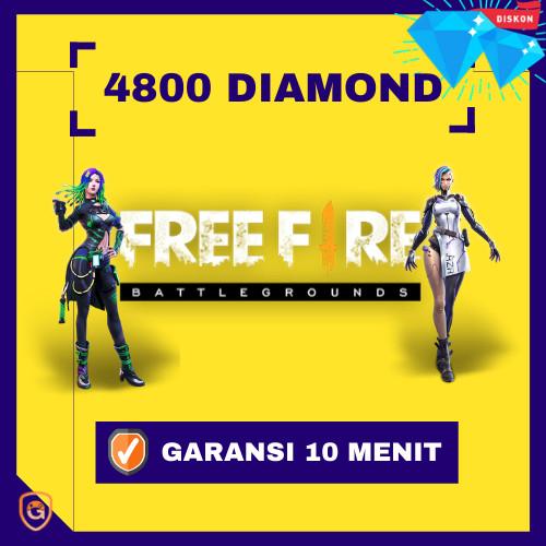 4800 Diamonds