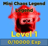 Pet Mini Chaos Legend - Ninja Legends