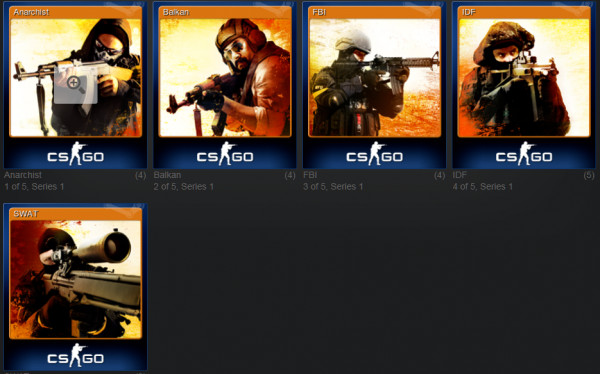 Counter-Strike: Global Offensive Badge Cards