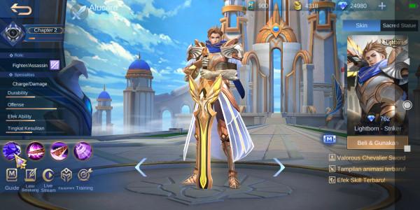 Lightborn - Striker (Alucard Lightborn Skin)