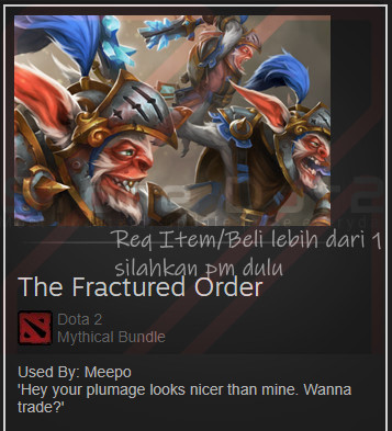 The Fractured Order (Meepo Set)