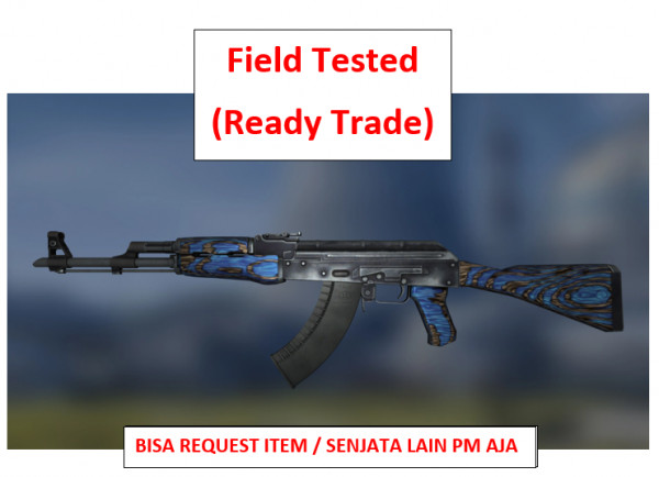 AK-47 | Blue Laminate FT | Ready Trade