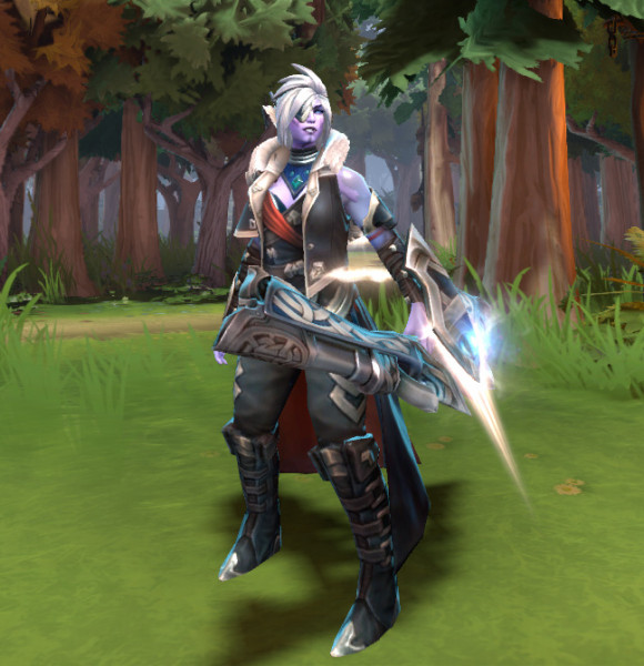 Sight of the Kha-Ren Faithful (Drow Ranger Set)
