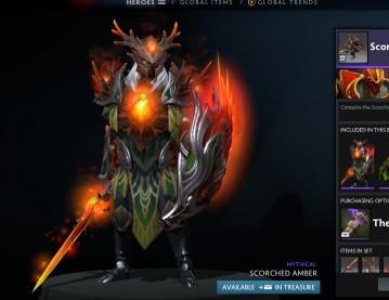 Scorched Amber (Dragon Knight Set)