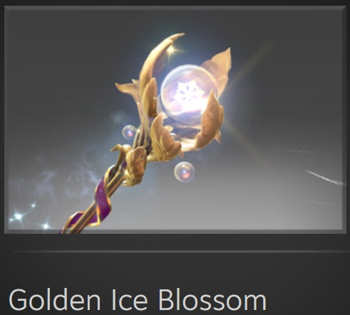 Golden Ice Blossom