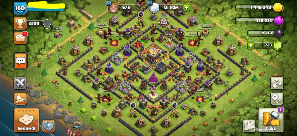 Town Hall 11 Max|Builder 5|Aman