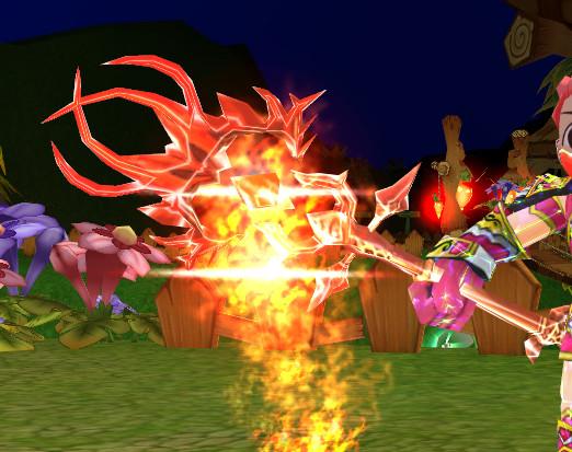 Sakiel Staff Fire Wizard FW XG+9
