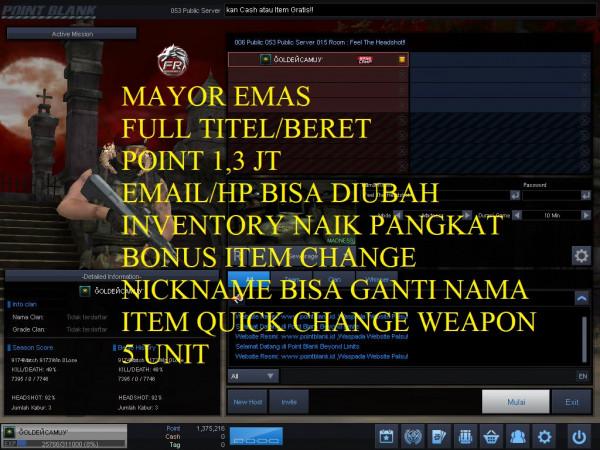Mayor Emas Full Titel