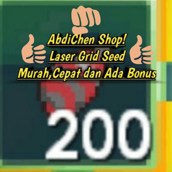 200 Laser Grid Seed (Lgrid)