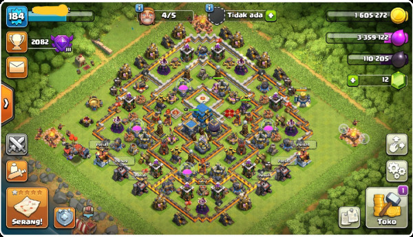 TH12 BK37 AQ65 W30 TROOPS KEBAKAR