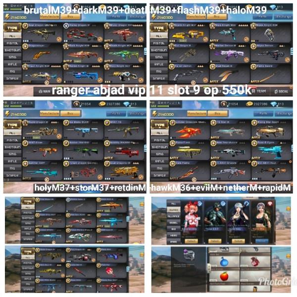Akun game crisis action 5M39