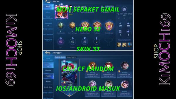 Hero 52 Skin 33 Emblem Siap Tempur Murah