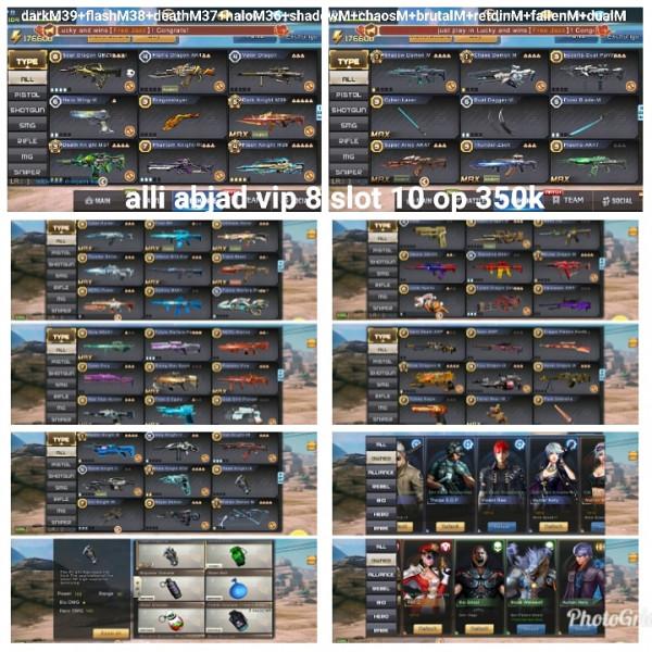 Akun game crisis action darkM39+9M