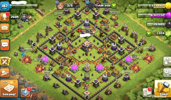 TH11 Hero 32/50/11 Troop & Dif Mantul