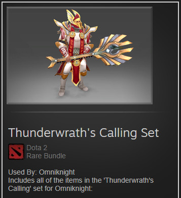 Thunderwrath's Calling Set (Omniknight Set)