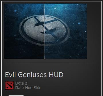 Evil Geniuses (HUD Skin)