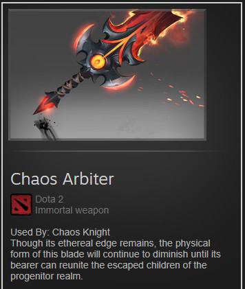 Chaos Arbiter (Immortal Chaos Knight)