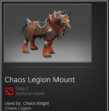Chaos Legion Mount (Chaos Knight)