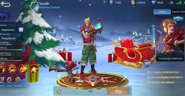 Christmas Carnival (Spesial Skin Claude)