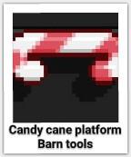 Candy Cane Platform