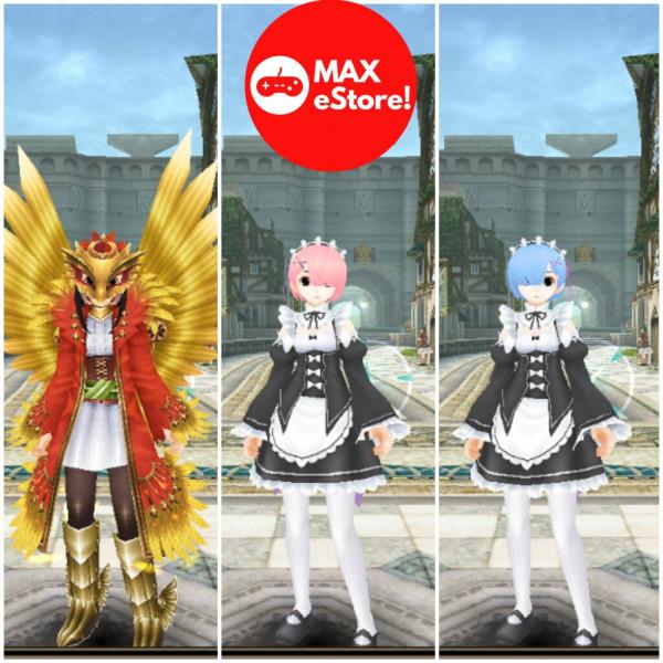 Avatar Ram Anime Re:Zero, Bisa Ganti Nama