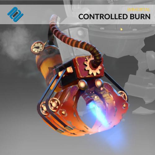 Controlled Burn (Immortal Timbersaw)