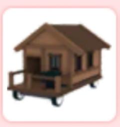Vehicle Car wood House Legendary Adopt Me!