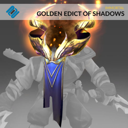 Golden Edict of Shadows (Immortal TI8 Riki)
