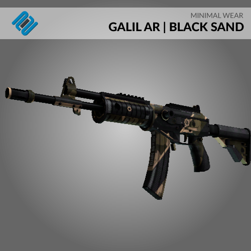 Galil-AR | Black-Sand (Minimal Wear)