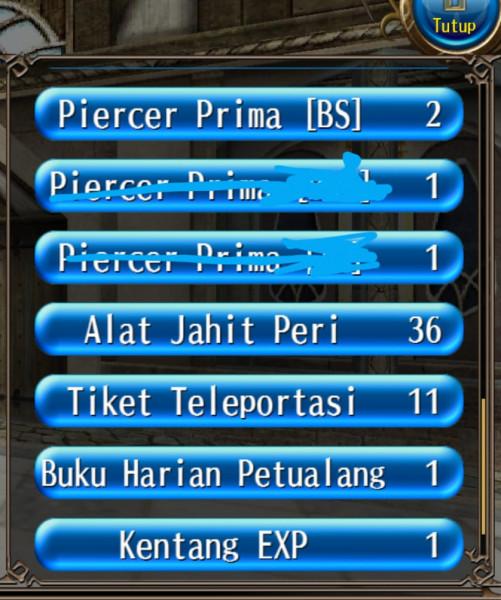 Piercer Prime 1-2 Busur (BS)