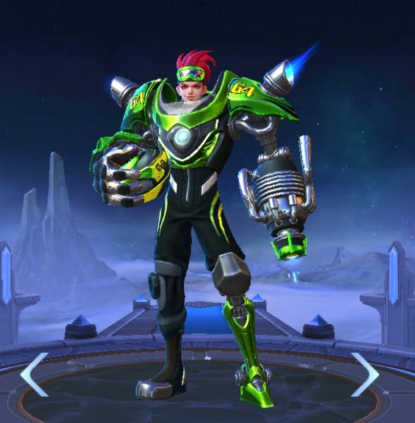 Moto Drifter - Skin Elite X.Borg - Elite Skin Xborg