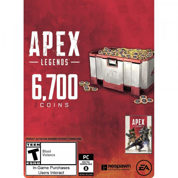 6000 Apex Coins