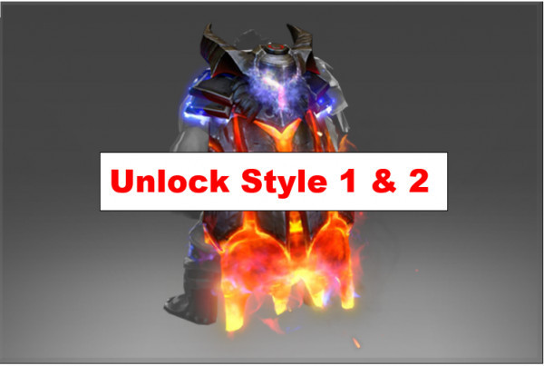 Mantle of the Cinder Baron (Immortal Axe)-2 STYLE