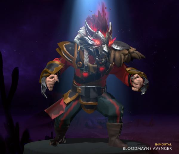 Bloodmayne Avenger (Immortal TI9 Lycan)