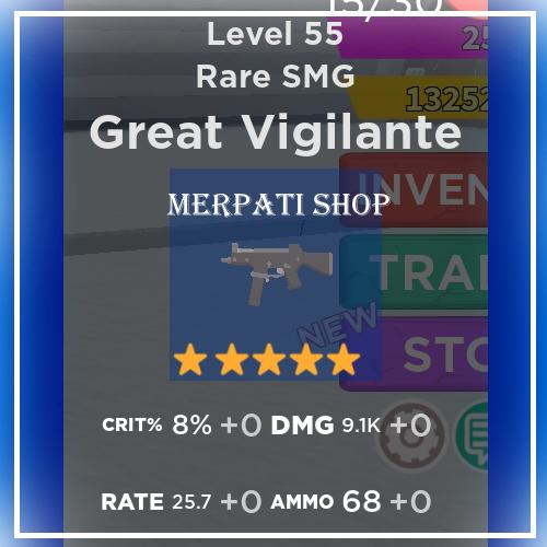 Great Vigilante Level 55 | Zombie Strike