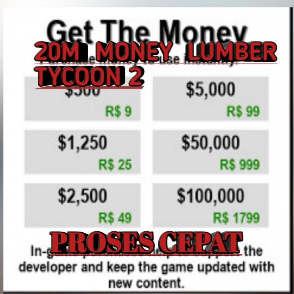 20M MONEY LUMBER TYCOON 2