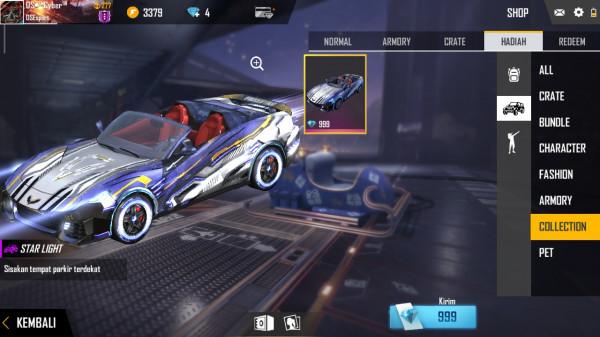 Skin Lamborghini Free Fire