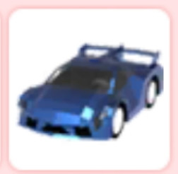 Vehicle Car Sport Blue Legendary Adopt Me!
