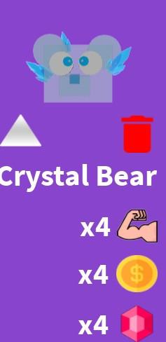 Crystal Bear | Blade Simulator