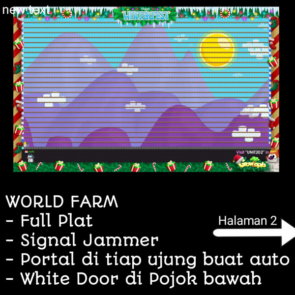 World farm full plat + portal