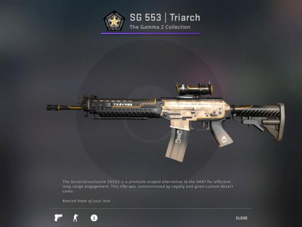 SG 553 | Triarch