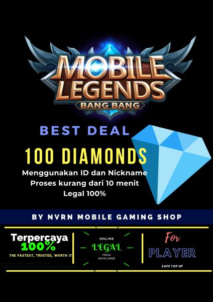 100 Diamonds