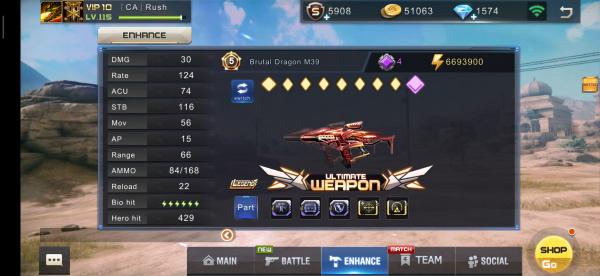 BRUTAL DRAGON M39!!!